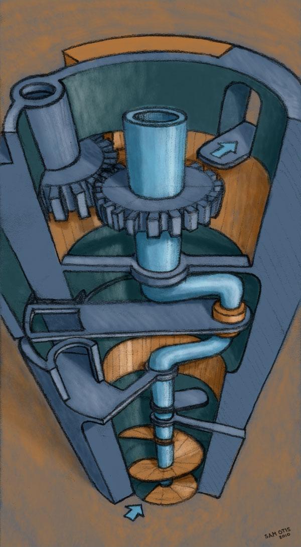 Mechanical Maze Sketch