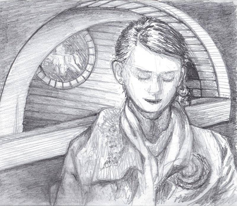 Cassie Sketch