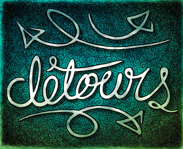 Detours type sketch