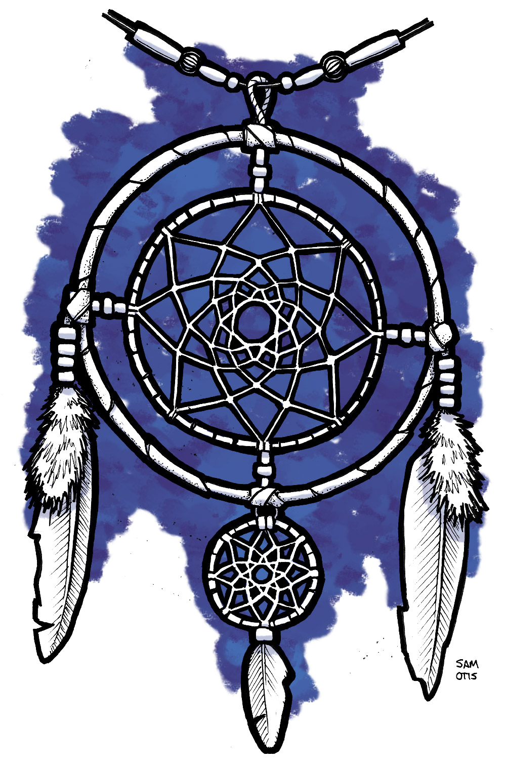 dream-catcher-sketch